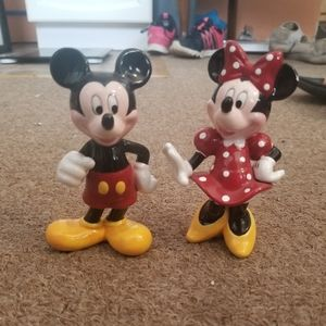 Mickey and Minnie Figurines